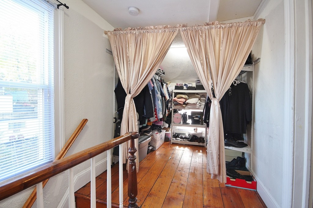 Second Floor Loft being used as a closet